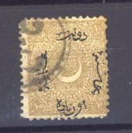 Turquie  -  1875  :  Mi  21  (o)                   ,      N2 - 1858-1921 Empire Ottoman