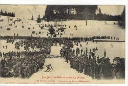 Carte Postale Ancienne Gérardmer - Les Sports D'Hiver. Concours De Ski - Gerardmer