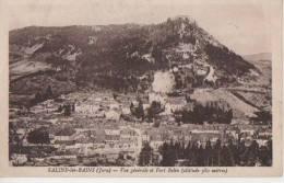 .SALINS LES BAINS (vue Generale Et Fort Belin ) - Autres Communes