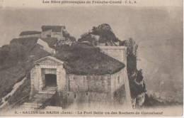 .SALINS LES BAINS (.le Fort Belin Vu Des Rochers De Cornaboeuf ) - Autres Communes