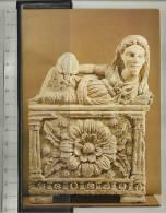Volterra Museo Guarnacci Urna In Tufo Con Figura Di Rosone - Museum