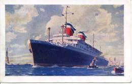 SS AMERICA - Steamers