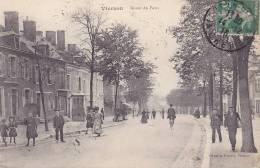 CPA - 18 - VIERZON - Route De Paris - Vierzon