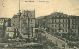 CPA 57 SARREBRUCK LE PONT De LOUISE  Joli Plan - Sarrebourg
