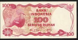 INDONESIA  P122   100   RUPIAH    1984    UNC. - Indonésie