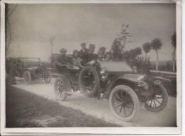Convois De Deux Voitures (tacots) Avec  Chauffeur - Automobiles