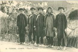 Tonkin-Chapa-femmes Nyangs-TBE - Vietnam