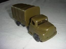 Camion Militaire Plastique W Germany - Autres Collections