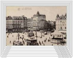 BRUXELLES - Place Rogier, Côté Sud - TRAMS - Places, Squares