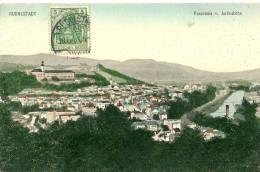 Rudolstadt. Panorama V. Justinshöhe. - Rudolstadt