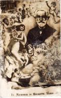 GIUSEPPE VERDI ,era Una Composizione Romantico Italiano FOTOGRAFIA CARTOLINA - Cantanti E Musicisti