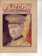 LE PELERIN Hebdomadaire N° 2970 25 Février 1934 Léopold 1er Belgique, Diocèse De Chalons Sur Marne, Ch De Saint Sépulcre - 1900 - 1949