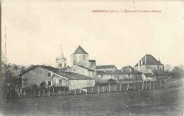 AMBRONAY L'EGLISE ET L'ANCIENNE ABBAYE 01 AIN - France