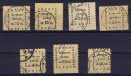 Lituania Michel Nr 20-26 Used - Lithuania