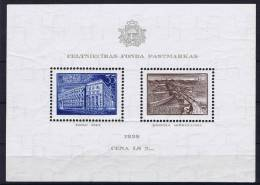 Latviaja/Letland Michel Block Nr 1, MH/*, 1938