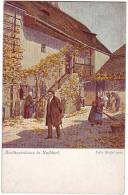 PC6808 Postcard: Beethoven & House, Nußdorf, Vienna - Music And Musicians