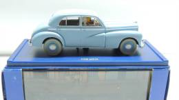 TINTIN CAR VOITURE REF ATLAS 60 BLACK GOLD PAYS OR NOIR MORRIS SIX BOX SEE PHOTO - Tintin