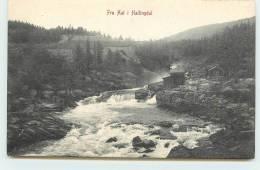 FRA AAL I  HALLINGDAL. - Norwegen