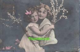 RPPC REAL PHOTO POSTCARD BEAUTIFUL YOUNG EDWARDIAN GIRL GIRLS ** CPA TRES JOLIE JEUNE FILLE JEUNES FILLES - Portretten
