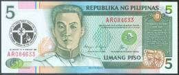 Philippines 5 Piso 1991 Commemorative Pick 179 UNC - Philippines
