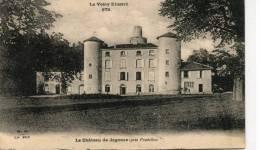 CPA 43 CHÂTEAU DE JAGONAS PRES PRADELLES 1928 - Autres Communes