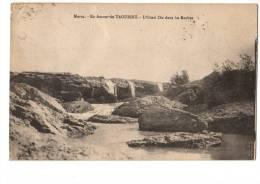 MAROC---en Amont De TAOURIRT---l'oued Zaa Dans Les Roches--voir 2 Scans - Autres