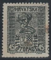YUGOSLAVIA 1918 - Yvert #34 - VFU - 1919-1929 Reino De Los Serbios, Croatas Y Eslovenos