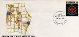 Australie. Boys_Brigade & Scouts 1983 - Movimiento Scout