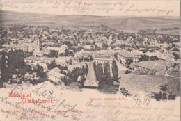 Hungary Miskolc  (Miskovec) 1899 Postcard Bird´s Eye View Of The City - Hongrie