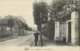 91 CORBEIL - LA RUE WIDMER - Corbeil Essonnes