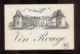 Etiquette De Vin    Rouge - Castles