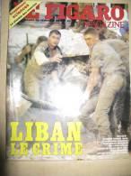LE FIGARO, Le Liban - Giornali