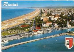 RIMINI  Panorama De L´avion - Rimini