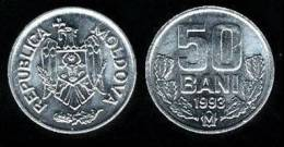 MOLDAVIA   50  BANI  1.993   1993   KM#4   Aluminio   SC/UNC      T-10.132 - Moldavia