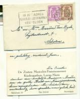 Visitekaartje - Antwerpen Zusters Maricolen-Franciscanessen - Kindergasthuis Louise-Marie - Cartes De Visite