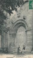 CHAMPAGNE - Ancienne Porte Romane De L'Église - Francia