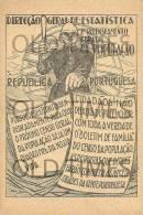 PORTUGAL - DIRECÇÃO GERAL DE ESTATISTICA - 7º RECENSEAMENTO GERAL DA POPULAÇÃO - 1930 PRINT. - Other