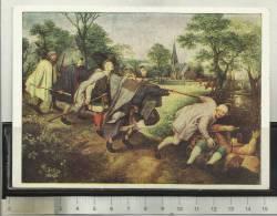 Brueghel Fünf Blinde Von Einem Betrunkenen Geführt Five Blinds Lead By A Drunk Man - Schilderijen