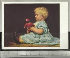 Anker Albert Die Rote Puppe La Poupée Rouge - Schilderijen