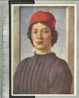 Botticelli Sandro Bildnis Eines Jungen Mannes Portrait Of A Young Man - Schilderijen