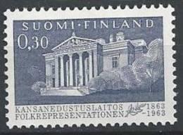 Finlande 1963 N° 557 Assemblée Des Représentants