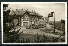 """S/w AK Österreich Hirschwang/Schneeberg Um 1940 """" Raxbahn-Bergstation Mit Deutschen Hoheitszeichen """" 1 AK Blanco, - Österreich"""