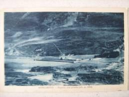 MONCENISIO - OSPIZIO CON PINETE 1930 C. (TIMBRO COL DU MONT CENIS REFUGE 8) - Italia