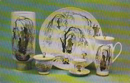 Russia Leningrad Coffee Set Old Park 1969 Museum Of The Lomonosov Porcelain Factory - Porcelaine