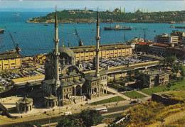 Turkey Istanbul The Mosque Of Nusretiye Harbor &amp  Point Of Se