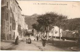 Lodève- Boulvard De La Bouquerie - Lodeve
