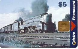 TARJETA DE AUSTRALIA DE UN TREN   (TRAIN-ZUG) NUEVA-MINT - Treinen