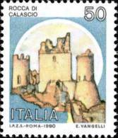 1991 Castelli D´Italia, 50 L. Con Millesimo 1980  50 Lire - Usato - Oblitered - 1991-00: Usados