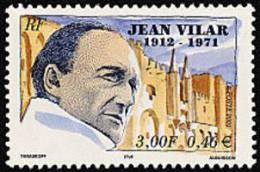France N° 3398 ** Personnage - Jean Villard - Nuevos