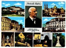 PC7538 Anton Bruckner Multi-view Card. - Muziek En Musicus